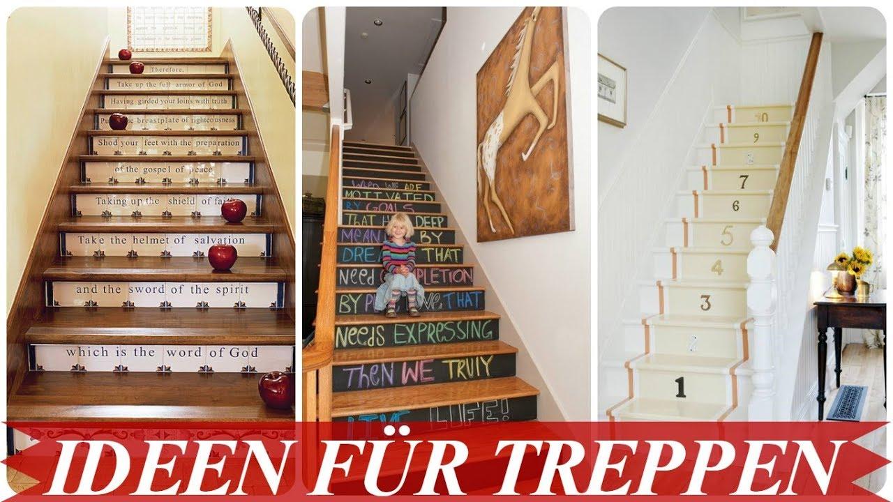 Schone Treppenhaus Deko Youtube