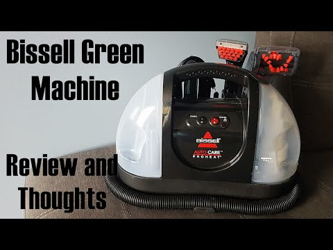 Bissell Green Machine Review, thoughts, and how it works