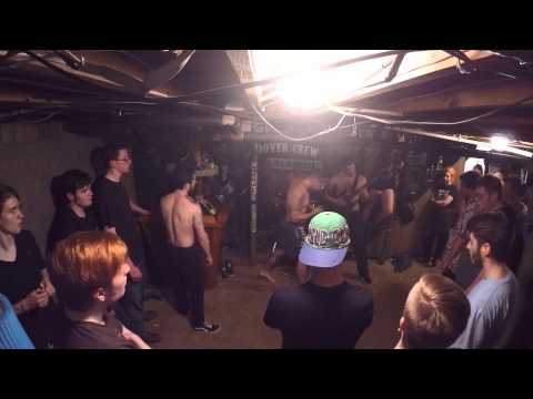 Hoodwrecked FULL SET Live @ Basement Show - Dover, NH 4/3/2015
