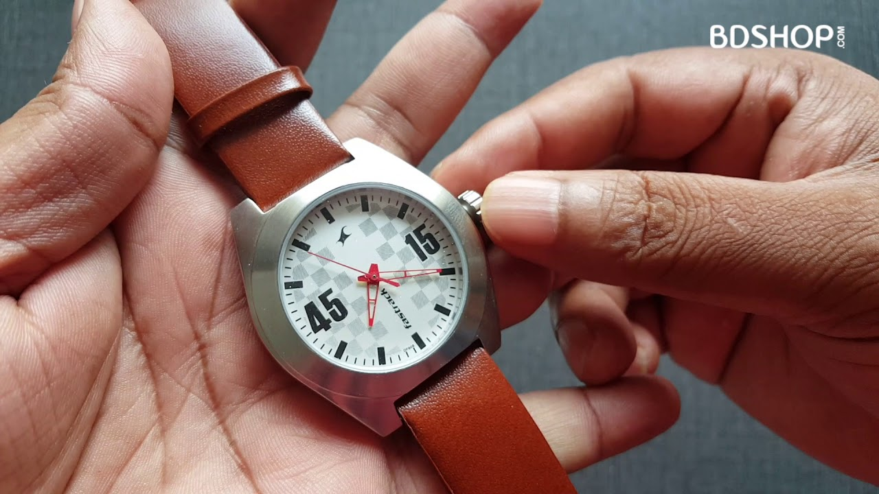 fastrack watch serial number check