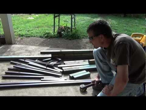 Welding a Hunting Platform From Scrap, Part 1