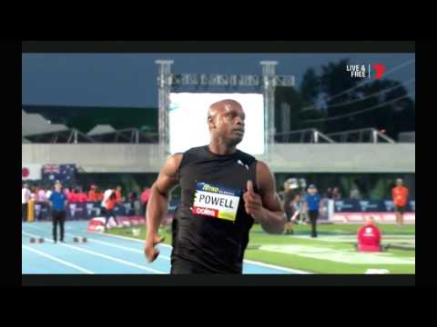 Nitro Athletics Melbourne - Asafa Powell - 6.64