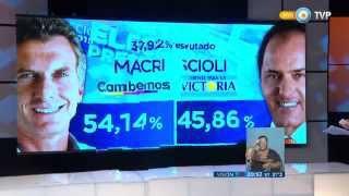 Visión 7 - Balotaje: Argentina eligió presidente