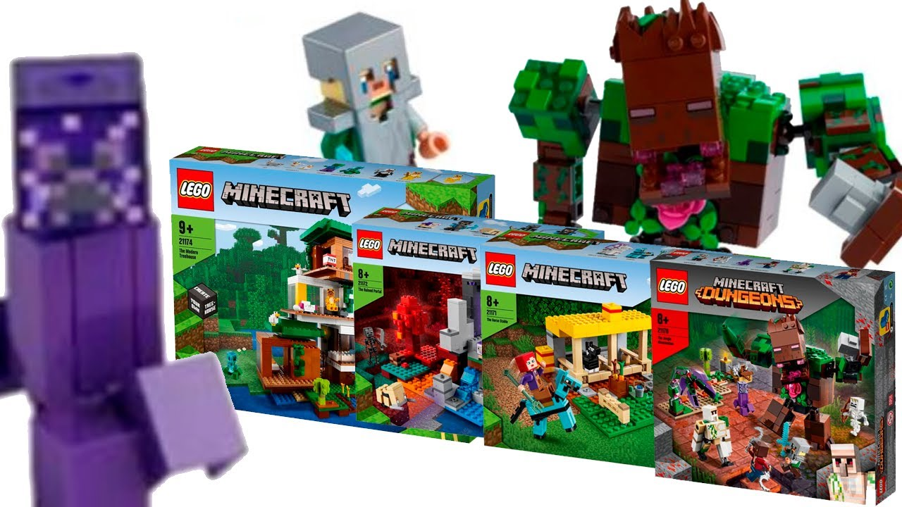 LEGO Майнкрафт Лето 2021 - Официальные Фото (Lego News-440)