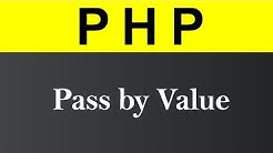 Pass by Value in PHP (Hindi)