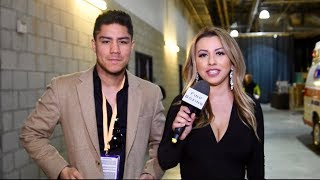 JESSIE VARGAS IMMEDIATELY REACTS TO GOLOVKIN KO ON VANES MARTIROSYAN
