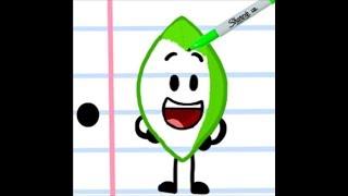 BFDI: How To Draw Leafy
