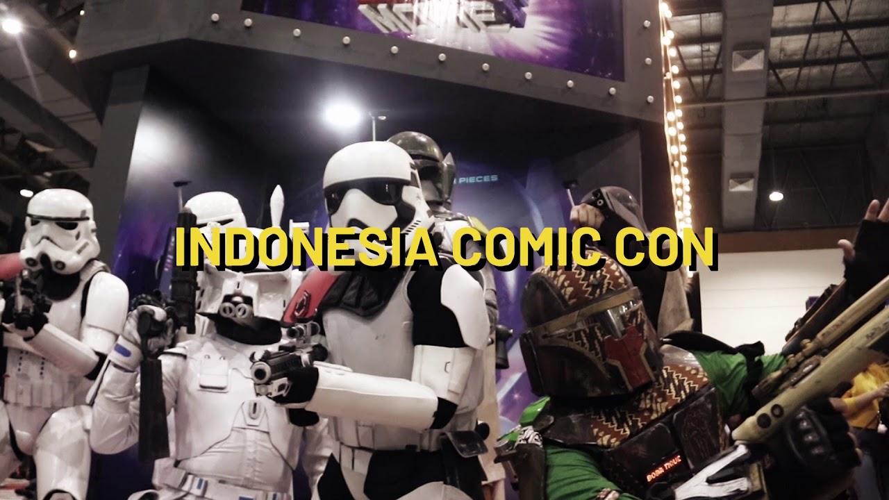 Indonesia Comic Con 2019 - INDONESIA COMIC CON