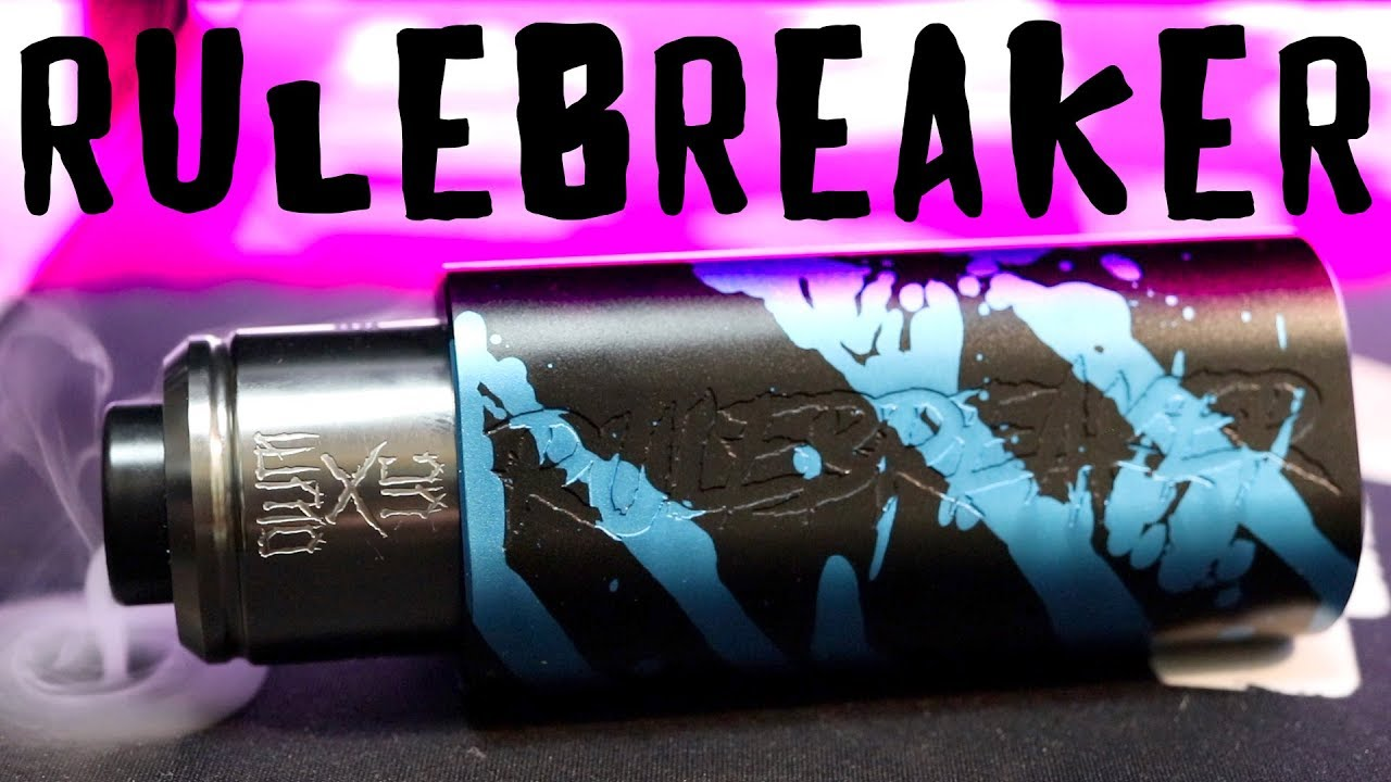 RuleBreaker Triple Series Mech! | Hottest Vape Ever! | Vaperz Cloud |  Vaping Bogan