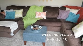 Weekend Vlog 2: New furniture & spring came early!