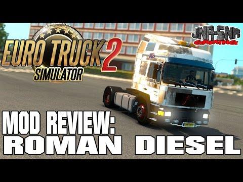 ETS 2 MODS REVIEW | Roman Diesel | EURO TRUCK SIMULATOR 2 MODS REVIEW