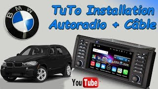 [TUTO]Comment installer un autoradio + câble d'extension sur BMW avec amplificateur DSP