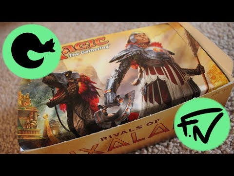 Opening a Rivals of Ixalan Booster box! (Ixalan Treasure chest pack)
