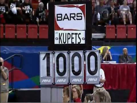 COURTNEY KUPETS - PERFECT 10 ON BARS - 2009 - (GREATEST COLLEGIATE GYMNAST OF ALL TIME) - VOB