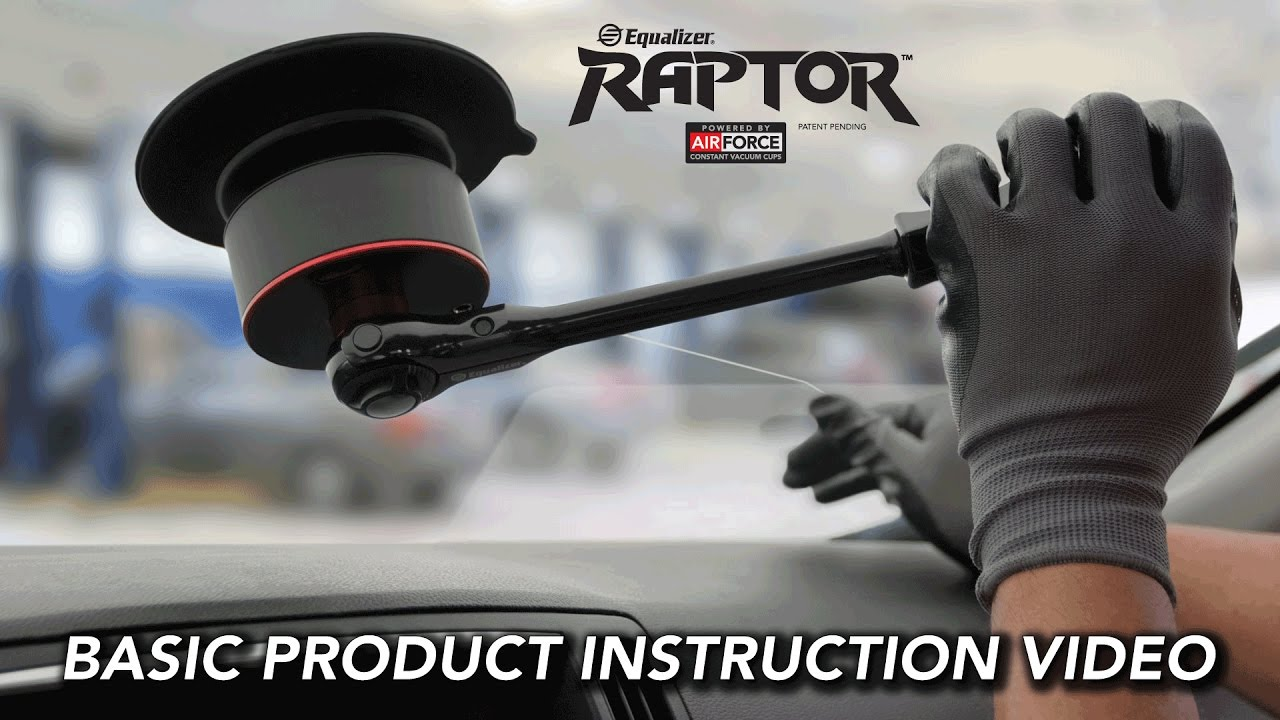 Equalizer® Raptor™ Auto Glass Wire and Cord Removal / Cut-Out Tool ...
