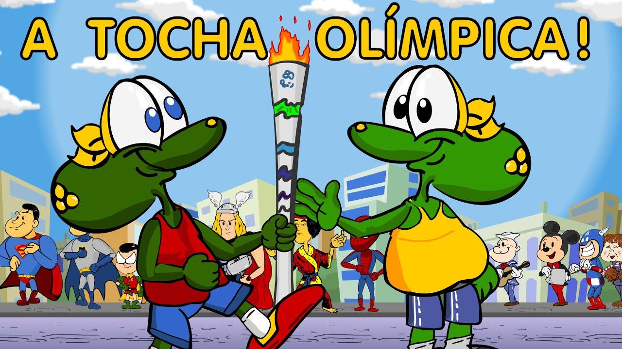 Fabuloso A Tocha Olímpica - Desenho animado infantil sobre as Olimpíadas  IS76