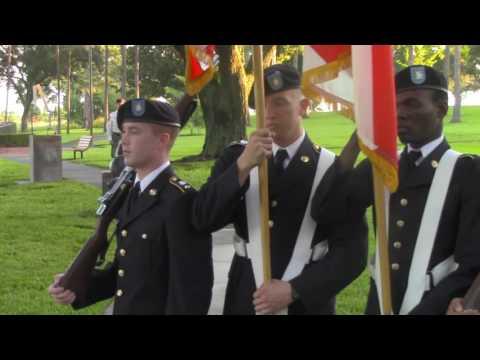 Veterans' Park POW Memorial Dedication