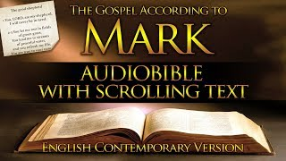 Holy Bible: MARK 1 t๐ 16 - Full (Contemporary English) With Text