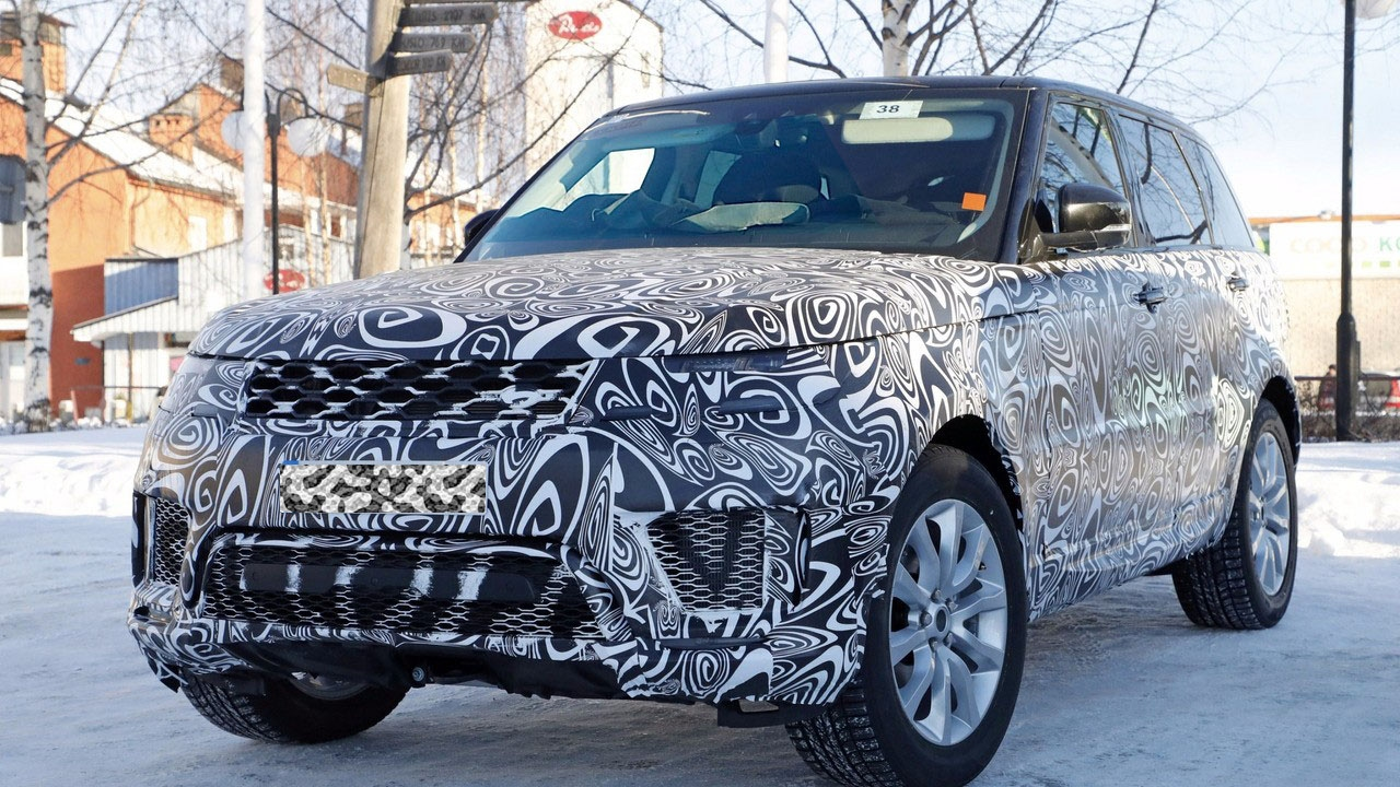2018 Range Rover Sport Plug In Hybrid Spy Shots