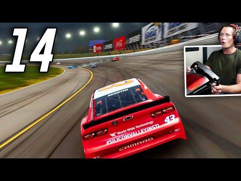 NASCAR Heat 5 - Part 14 - EVADING A WRECK! |