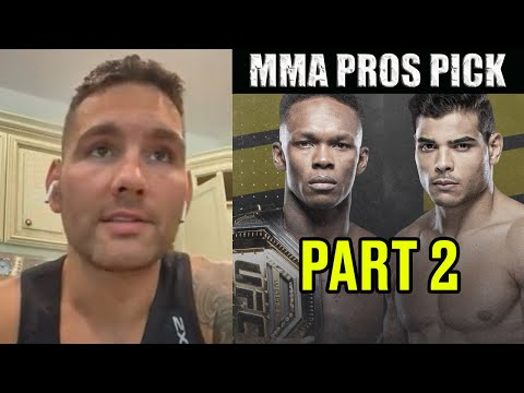 MMA Pros Pick - Israel Adesanya vs Paulo Costa I #UFC253 - Part 2
