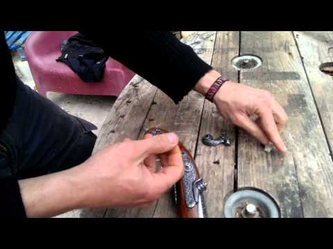 fixing a Flintlock Cocking mechanism