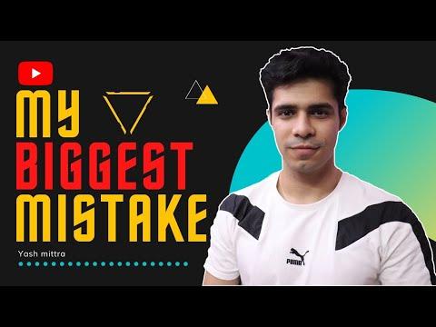 My Biggest Mistake.