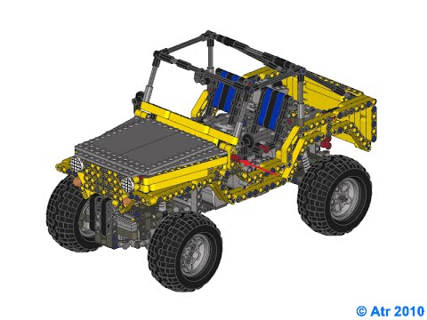 Lego Jeep Willys Instruction Youtube
