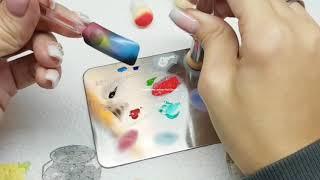 Galaxy Nails TUTORIAL Easy Design