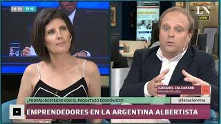 Emprendedores en la Argentina albertista, ¿podrán despegar con el paquetazo económico?