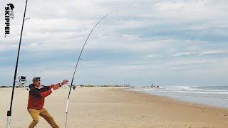 The MOST Effective Beach Fishing Rigs How to catch more fish!  (FALL FISHING 2020)