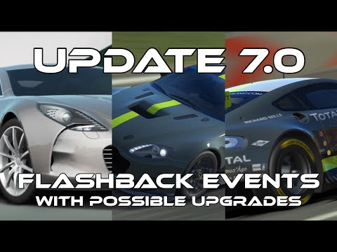 Real Racing 3 Update 7.0 Flashback Events With Possible Upgrade Tree RR3