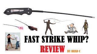 Fast Strike Whip Review Best Self Defense Tool Vs Mace Vs Gun Vs Attacker For Women