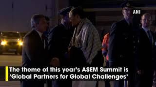 VP Venkaiah Naidu arrives in Brussels for 12th ASEM Summit