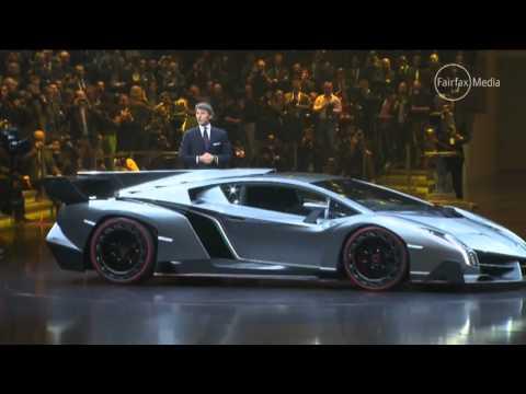 Уникальное видео Lamborghini Veneno за 4.5 миллиона 2013