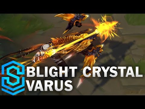 Blight Crystal Varus (2018) Skin Spotlight - League of Legends