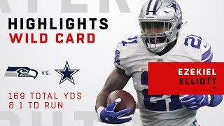 Ezekiel Elliott's HUGE Night w/ 169 Total Yards & 1 TD!