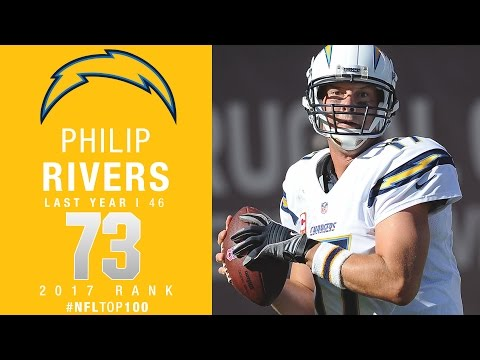 #73: Philip Rivers (QB, Chargers) | Top 100 Players of 2017 | NFL