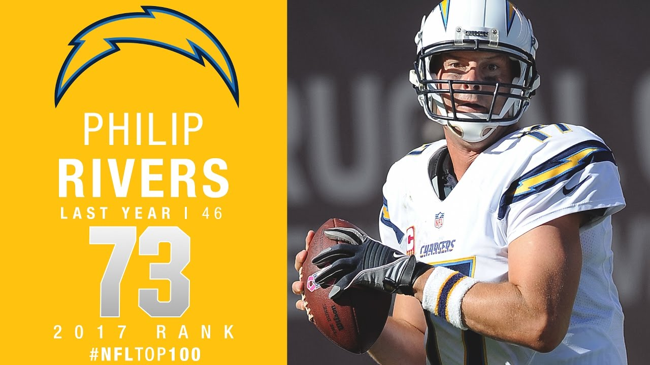 73: Philip Rivers QB, Chargers  Top 100 Players of 2017  NFL  YouTube