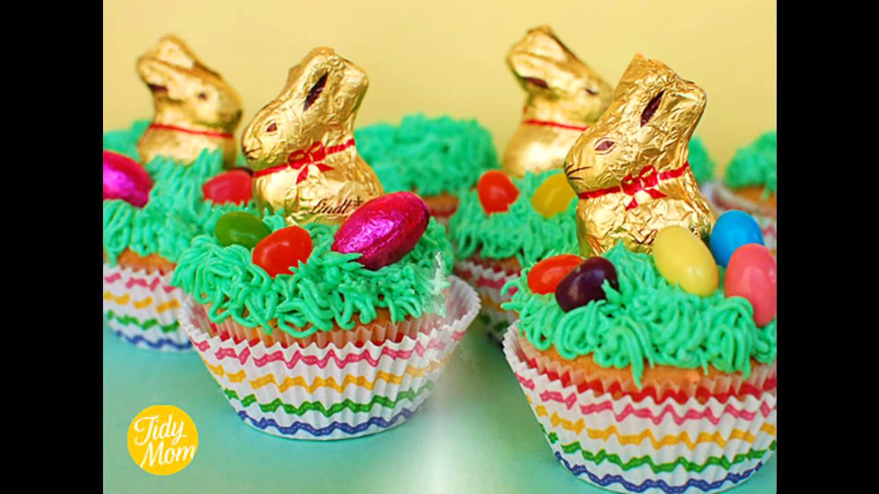 Easy Easter cupcake decorating ideas  sc 1 st  YouTube & Easy Easter cupcake decorating ideas - YouTube