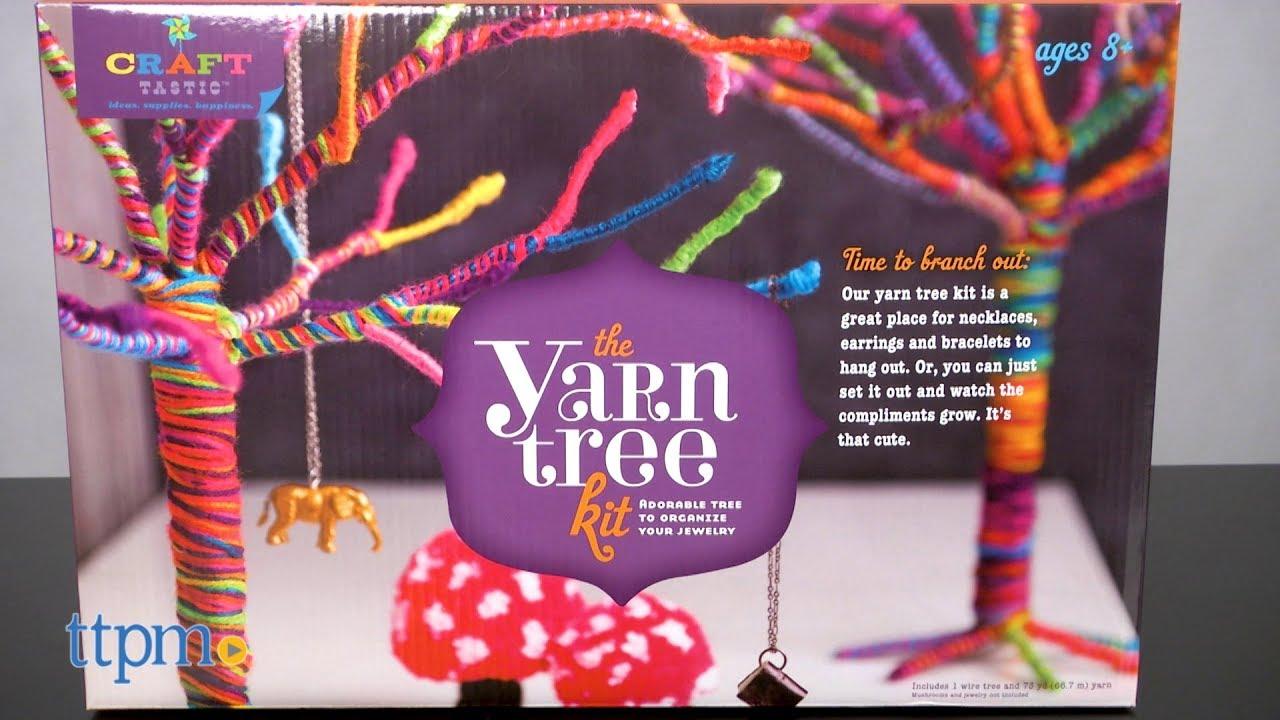 Craft Tastic Yarn Tree Kit From Ann Williams Group