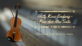 HETTY KOES ENDANG - KAU DAN AKU SATU [ HQ AUDIO ] Free Download Mp3