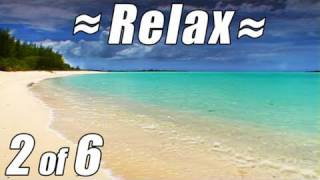 RELAX Nature Sounds CARIBBEAN BEACH #2 Relaxing Ocean Waves for Studying Relaxation Video Bahamas