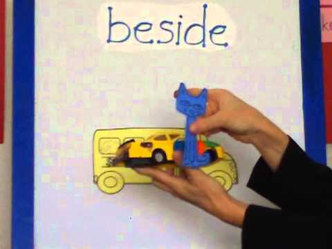 Pete The Cat And Position Words