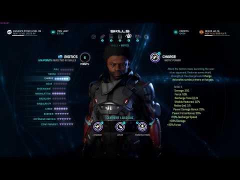 Mass Effect Andromeda Biotic God Build Using Annihilation Lance Charge