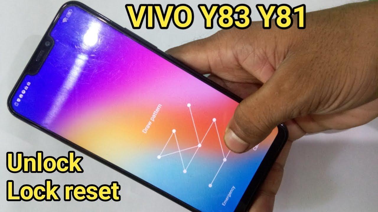 Vivo y81 y83 pattern unlock miracle box / vivo pin password
