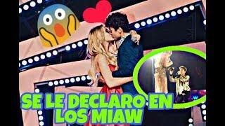 ¡BESO DE JUANPA ZURITA Y LELE PONS EN LOS PREMIOS MTV MIAW MIRA EL BESO QUE SE DIERON #ZURIPONS! 😱