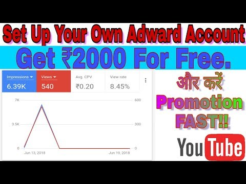 Set up Adward Account and Get � Credit || TECH UNBOX