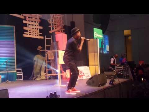 Dija,Reekado Banks, Korede Bello performing at Yaw Live On Stage