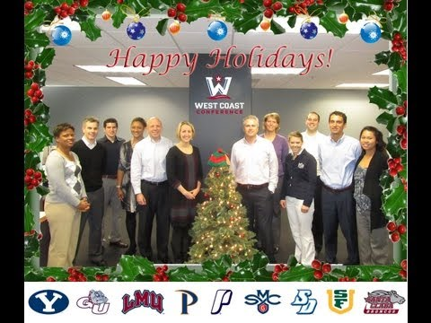 Happy Holidays from the West Coast Conference!